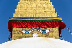 Boudhanath Stupa στο Κατμαντού Στοκ Εικόνα