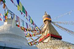 Kathmandu, Nepal, Boudhanath Stupa. Nepal, Kathmandu, Boudhanath Stupa in Boudha Stock Photo