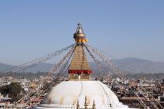 Boudhanath Stupa. Nepal, Kathmandu, Boudhanath Stupa in Boudha Royalty Free Stock Photos