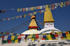Boudhanath Stupa 免版税库存图片