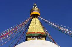 Boudhanath Stupa foto de archivo libre de regalías