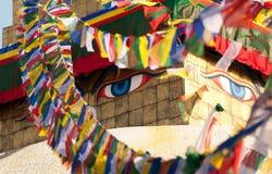 Boudhanath stupa Zdjęcie Stock