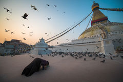 Boudhanath-stupa Lizenzfreies Stockfoto