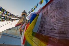Boudhanath-stupa Stockfotos