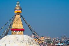 Boudhanath-stupa Lizenzfreie Stockfotografie