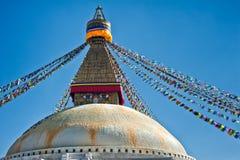 Boudhanath Stupa Royaltyfria Foton
