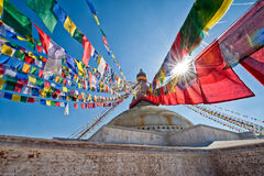 Boudhanath stupa Zdjęcia Stock