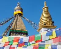 Boudhanath Stupa Στοκ φωτογραφία με δικαίωμα ελεύθερης χρήσης