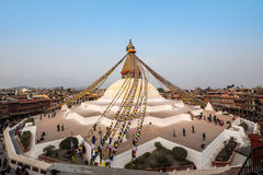 Boudhanath Stupa Fotografia Stock Libera da Diritti