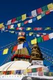 Boudhanath Stupa Lizenzfreie Stockbilder
