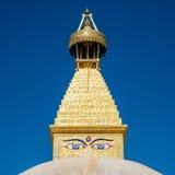 Boudhanath Stupa i Kathmandu Royaltyfri Bild