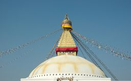 Boudhanath Stupa in Kathmandu Royalty Free Stock Photos