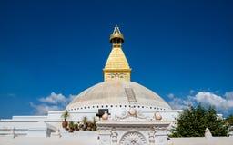 Boudhanath Stupa in Kathmandu Lizenzfreies Stockbild