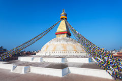 Boudhanath stupa, Kathmandu Royalty Free Stock Photography