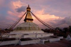 Boudhanath Stupa. Kathmandu, Napal Royalty Free Stock Photography