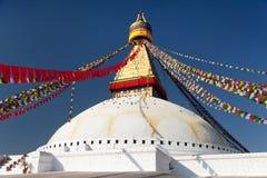 Boudhanath stupa - Kathmandu - Nepa Royalty Free Stock Photography