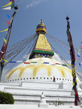 Boudhanath Stupa - Kathmandu - Nepal Royalty Free Stock Photos
