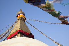 Boudhanath Stupa, Kathmandu, Nepal. Stock Image