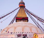 Boudhanath Stupa in Kathmandu , Nepal Stock Image