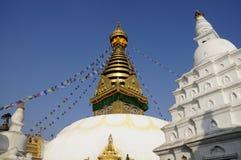 Boudhanath stupa in Kathmandu, Nepal Stock Photos