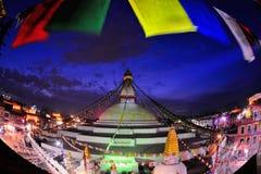Boudhanath stupa. In Kathmandu Nepal Royalty Free Stock Image