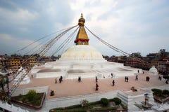Boudhanath Stupa, Kathmandu, Nepal royalty free stock photos
