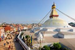 Boudhanath Stupa, Kathmandu, Nepal Stock Photography