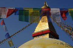 Boudhanath Stupa, Kathmandu, Nepal Stock Photos