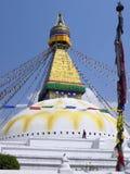 Boudhanath Stupa - Kathmandu - Nepal Royalty Free Stock Images