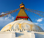 Boudhanath Stupa  in Kathmandu, Nepal Royalty Free Stock Image