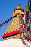 Boudhanath Stupa  in Kathmandu, Nepal Stock Images