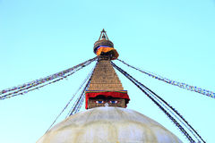 Boudhanath Stupa, Kathmandu Nepal Royalty Free Stock Photos