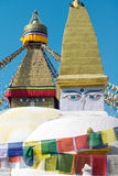 Boudhanath Stupa, Kathmandu, Nepal Royalty Free Stock Photos