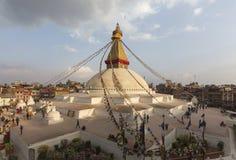 Boudhanath Stupa in Kathmandu, Nepal Royalty Free Stock Photos
