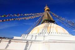 Boudhanath Stupa in Kathmandu, Nepal. Royalty Free Stock Image