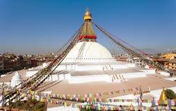 Boudhanath stupa - Kathmandu - Nepal Royalty Free Stock Photo