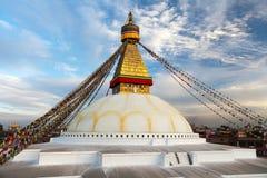 Boudhanath stupa - Kathmandu - Nepal Stock Photos