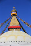 The Boudhanath Stupa Stock Images