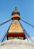 Boudhanath stupa in Kathmandu Royalty Free Stock Photography