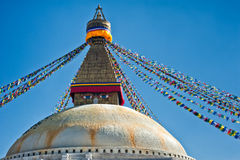 Boudhanath Stupa Royalty Free Stock Photos