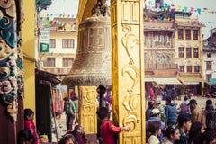 Boudhanath Stupa in the Kathmandu valley, Nepal Stock Images