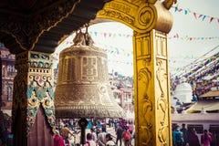 Boudhanath Stupa in the Kathmandu valley, Nepal Stock Photography