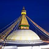 Boudhanath Stupa in the Kathmandu valley, Nepal. Stock Image