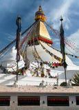 Boudhanath stupa - Kathmandu Royalty Free Stock Photography