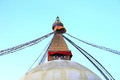 Boudhanath Stupa, Katmandou Népal Photos libres de droits