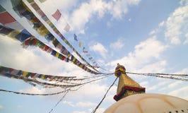 Boudhanath Stupa, Nepal Fotografering för Bildbyråer