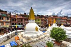 Boudhanath Stupa, Nepal imagens de stock