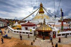 Boudhanath Stupa, Nepal foto de stock royalty free