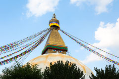 Boudhanath stupa from nepal Stock Images