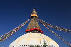 Boudhanath stupa from nepal Stock Photography